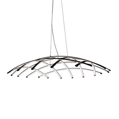 Suspension Céleste LED / Ø 120 cm - Dix Heures Dix noir en métal