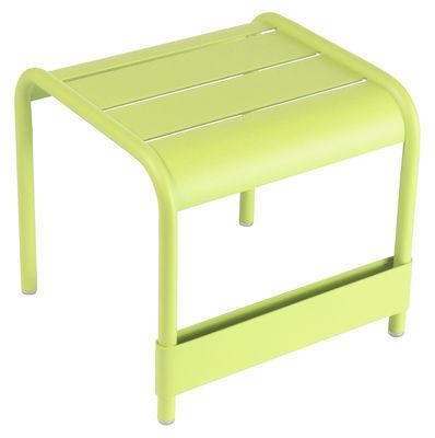 Life Style - Table d'appoint Luxembourg / Pouf - L 42 cm - Fermob - Verveine - Aluminium laqué
