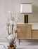 Elysée Table lamp - / H 71 cm - Lacquered wood & fabric by RED Edition