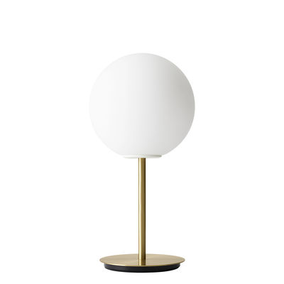 Lighting - Table Lamps - TR Bulb LED Table lamp - / With dimmer - Brass & glass by Menu - With dimmer / Brass - Brushed brass, Opal Glass