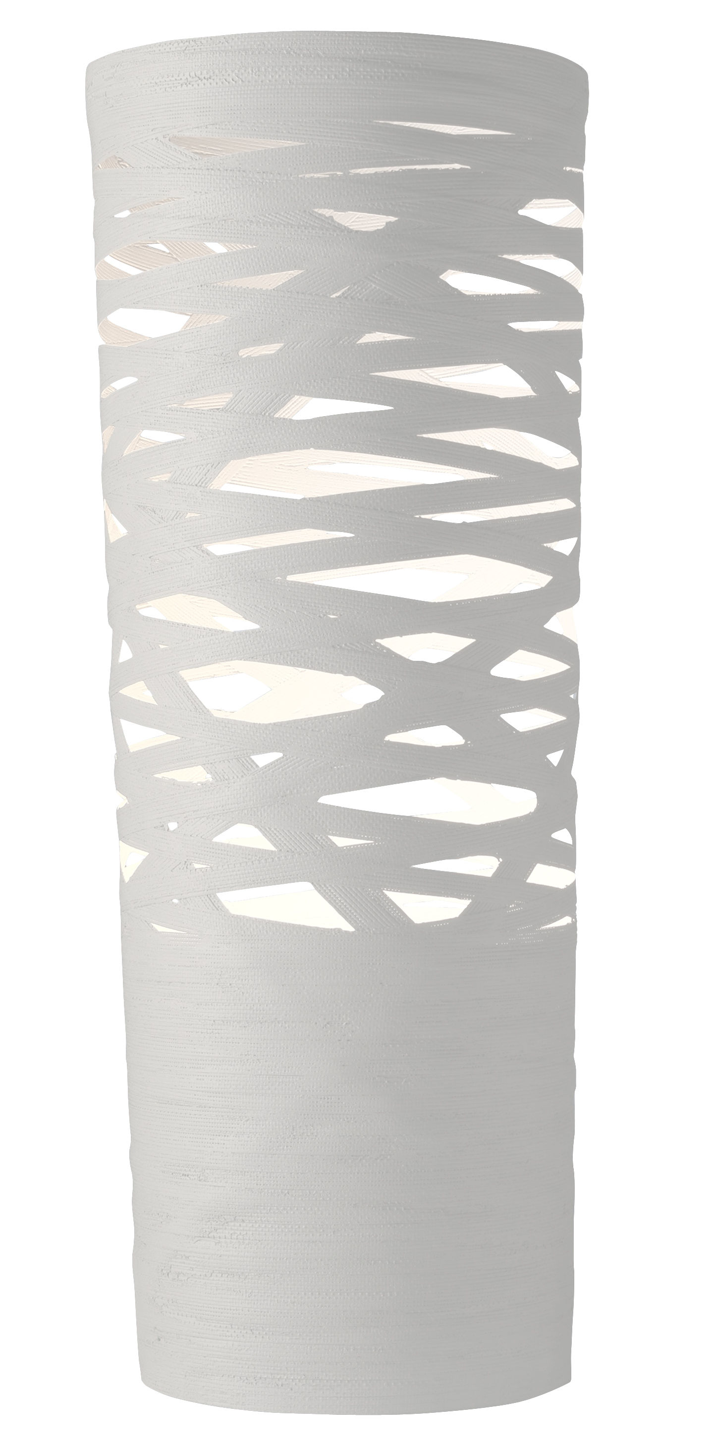 Lighting - Table Lamps - Tress Table lamp - H 61 cm by Foscarini - White - Composite material, Fibreglass
