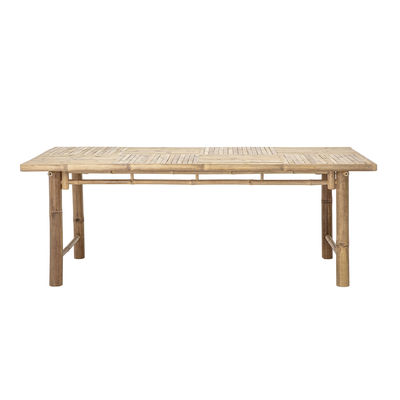 Mobilier - Tables - Table rectangulaire Sole / Bambou - 100 x 200 cm - Bloomingville - Bambou - Bambou
