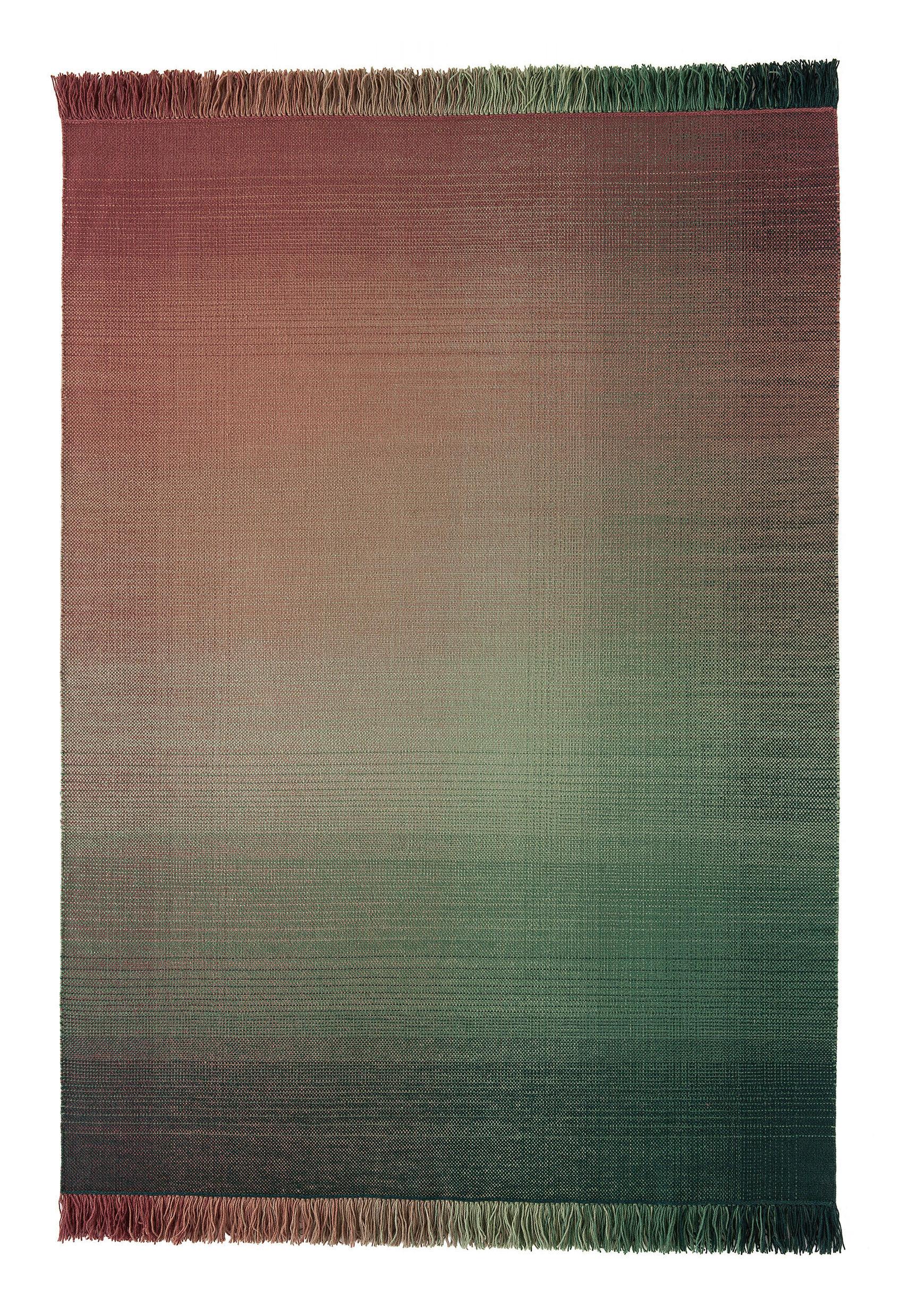 Déco - Tapis - Tapis Shade palette 3 / 170 x 240 cm - Nanimarquina - Vert & Rose - Laine de Nouvelle-Zélande