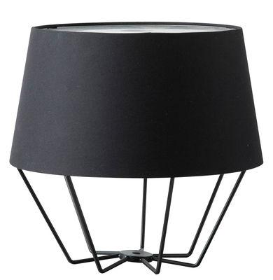 Leuchten - Tischleuchten - Oblong Tischleuchte / Metall - Frandsen - Schwarz - bemaltes Metall