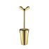 Merdolino Gold Toilet brush - / Alessi 100 Values Collection - Limited edition by Alessi