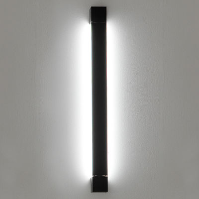Lighting - Wall Lights - Pivot LED Wall light - L 61 cm by Fabbian - Anthracite - Painted aluminium