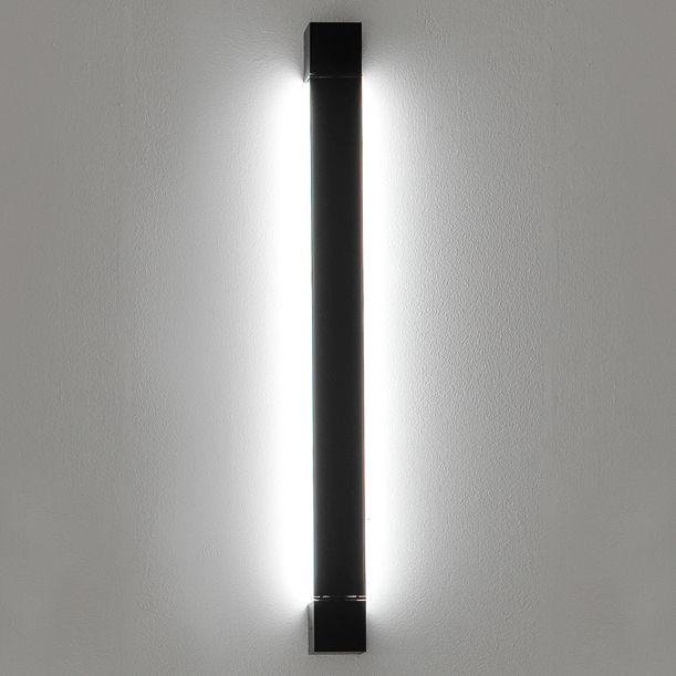 Lighting - Wall Lights - Pivot LED Wall light - L 61 cm by Fabbian - Anthracite - Painted aluminium