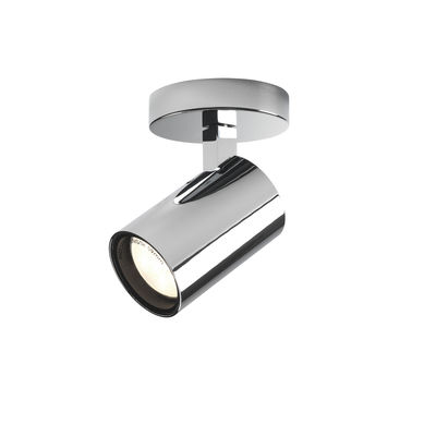 Illuminazione - Lampade da parete - Applique Aqua Single - / Plafoniera - Spot orientabile di Astro Lighting - Cromo - Alluminio