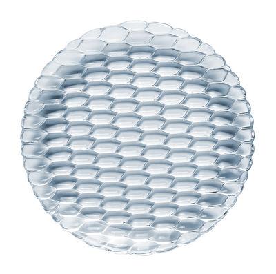 Assiette Jellies Family / Ø 27 cm - Kartell bleu ciel en matière plastique