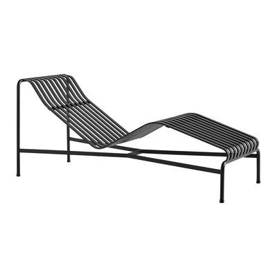 Jardin - Bains de soleil, chaises longues et hamacs - Bain de soleil Palissade / R & E Bouroullec - Acier - Hay - Bain soleil / Anthracite - Acier revêtement poudre