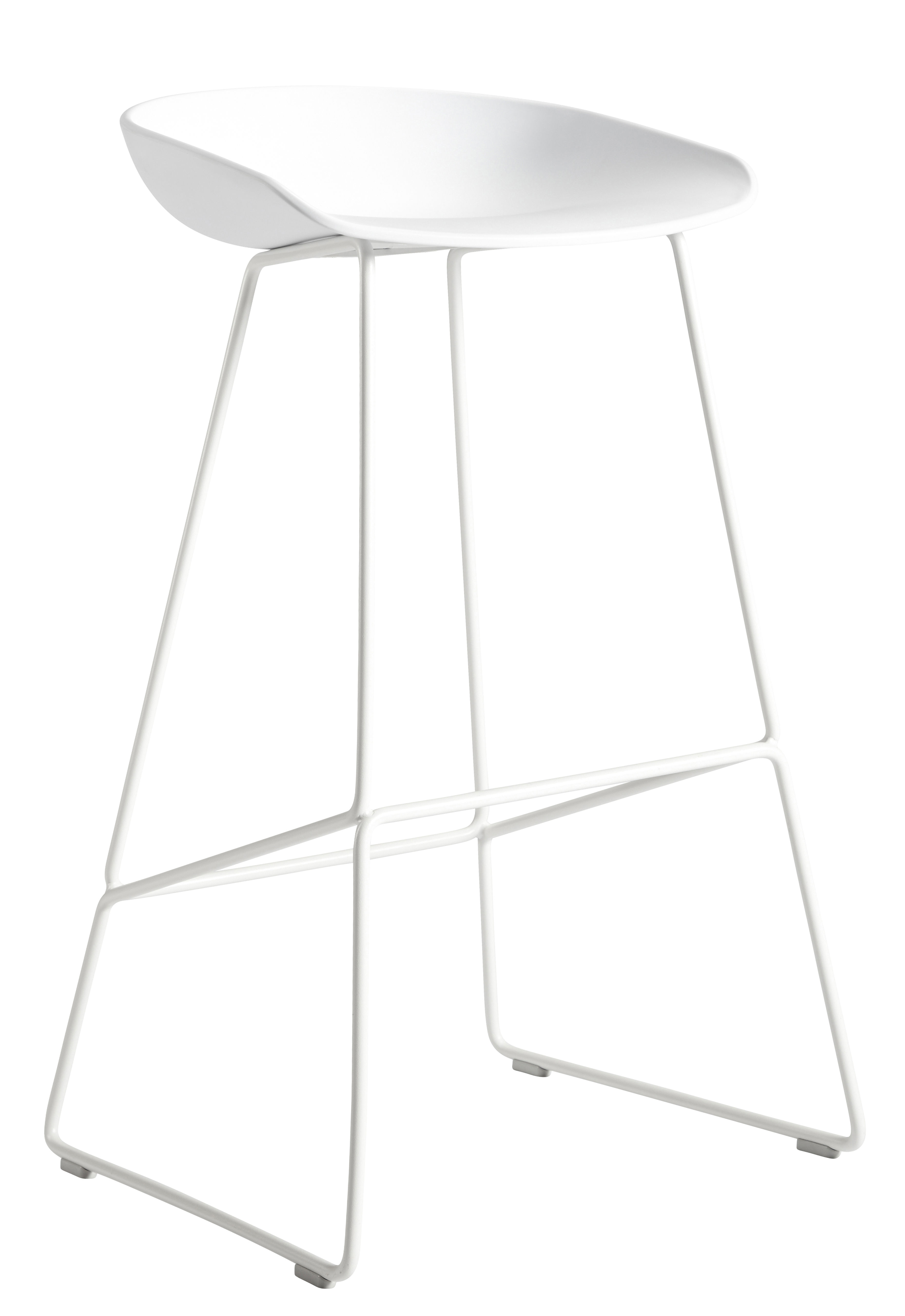 About A Stool Aas 38 H 65 Cm Kufengestell Aus Stahl