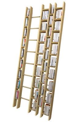 Bibliothèque Hô + / L 96 x H 240 cm - La Corbeille hêtre naturel en bois