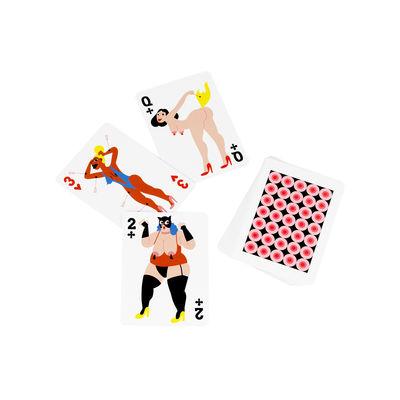 Accessoires - Livres et DVD - Cartes à jouer Manikhin / Jeu de 54 cartes - Normann Copenhagen - Multicolore - Papier plastifié