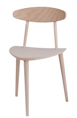 Chaise J 107 / Bois - Hay bois naturel en bois