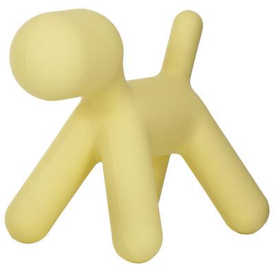 Décoration Puppy XL / L 102 cm - Magis Collection Me Too jaune en matière plastique