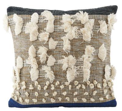 details kissen 50 x 50 cm blau beige by house doctor made in design. Black Bedroom Furniture Sets. Home Design Ideas