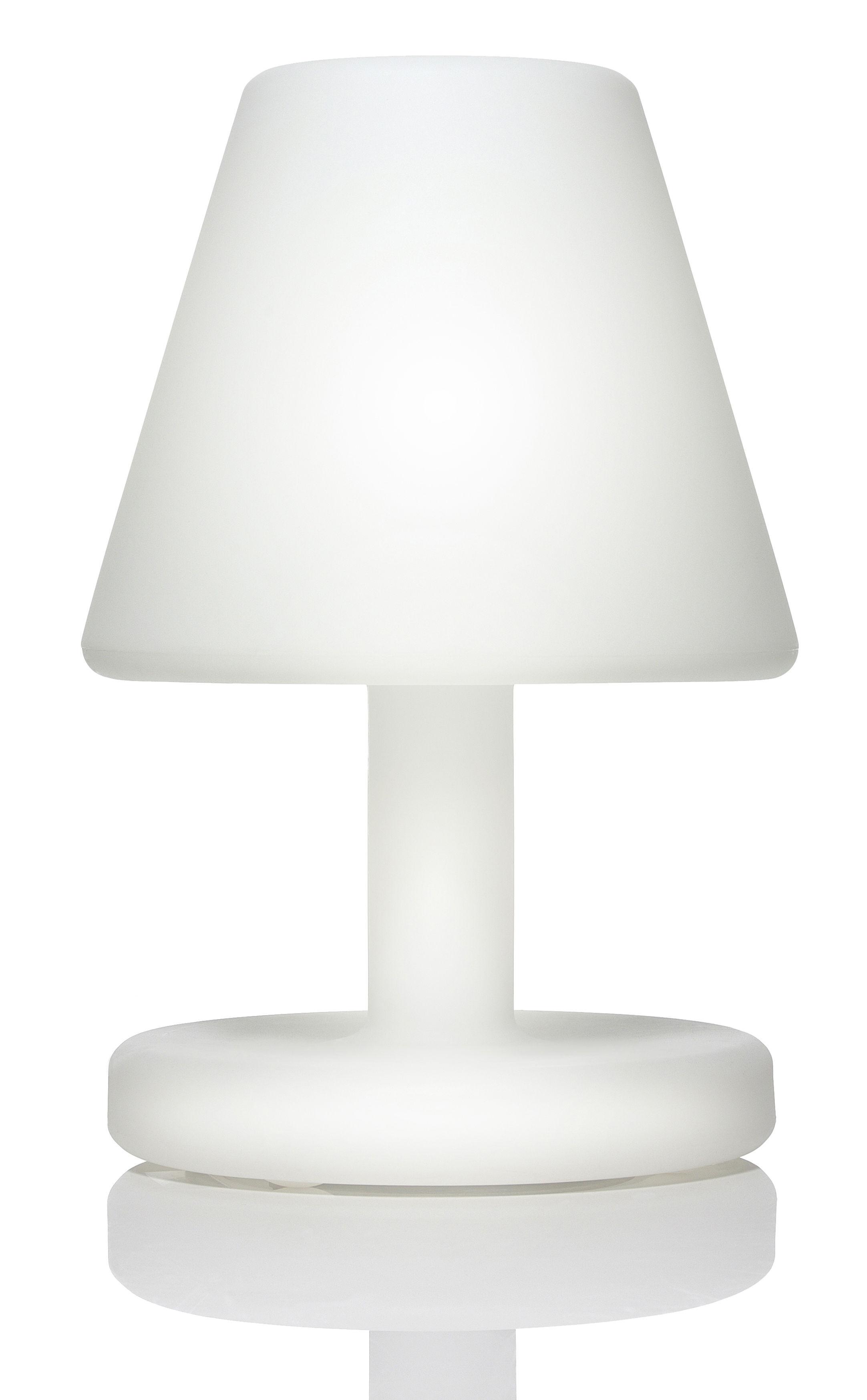 Lampe De Sol Edison The Grand H 90 Cm Fluo Blanc Fatboy Made