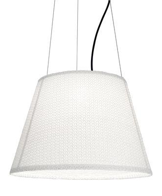 Tolomeo Paralume LED Outdoor Pendelleuchte outdoorgeeignet / LED - Ø 52 cm - Artemide - Weiß