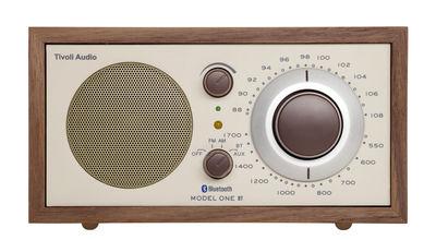 Radio Model One BT / Enceinte Bluetooth - Tivoli Audio beige,noyer en bois