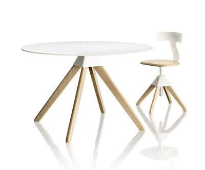 Cuckoo The Wild Bunch Round Table ø 120 Cm By Magis