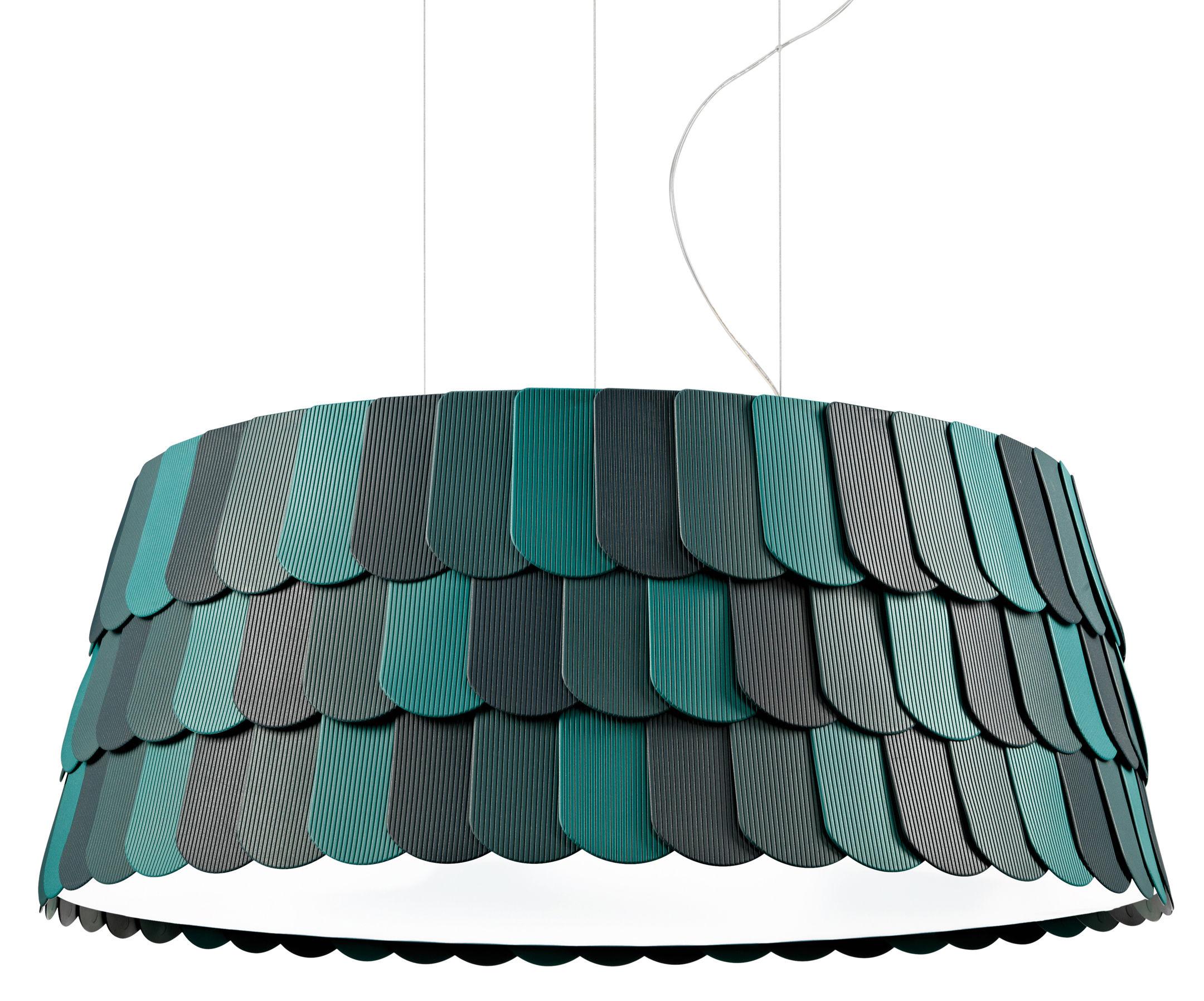 Illuminazione - Lampadari - Sospensione Roofer - Ø 79 x H 32 cm di Fabbian - Vere - Gomma