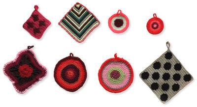 Interni - Sticker - Sticker Napperons 1 - / Set da 8 di Domestic - Set da 8 / Multicolore - Vinile