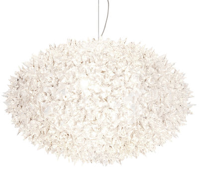 Suspension Bloom Bouquet / Large Ø 53 cm - Kartell blanc en matière plastique