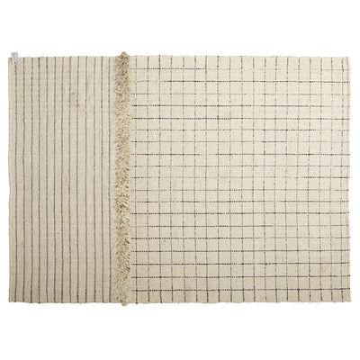Déco - Tapis - Tapis Subas Large - Karo / 420 x 310 cm - Laine - ames - 420 x 310 cm / Beige - Laine