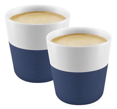 Tasse à espresso / Set de 2 - 80 ml - Eva Solo bleu navy en céramique