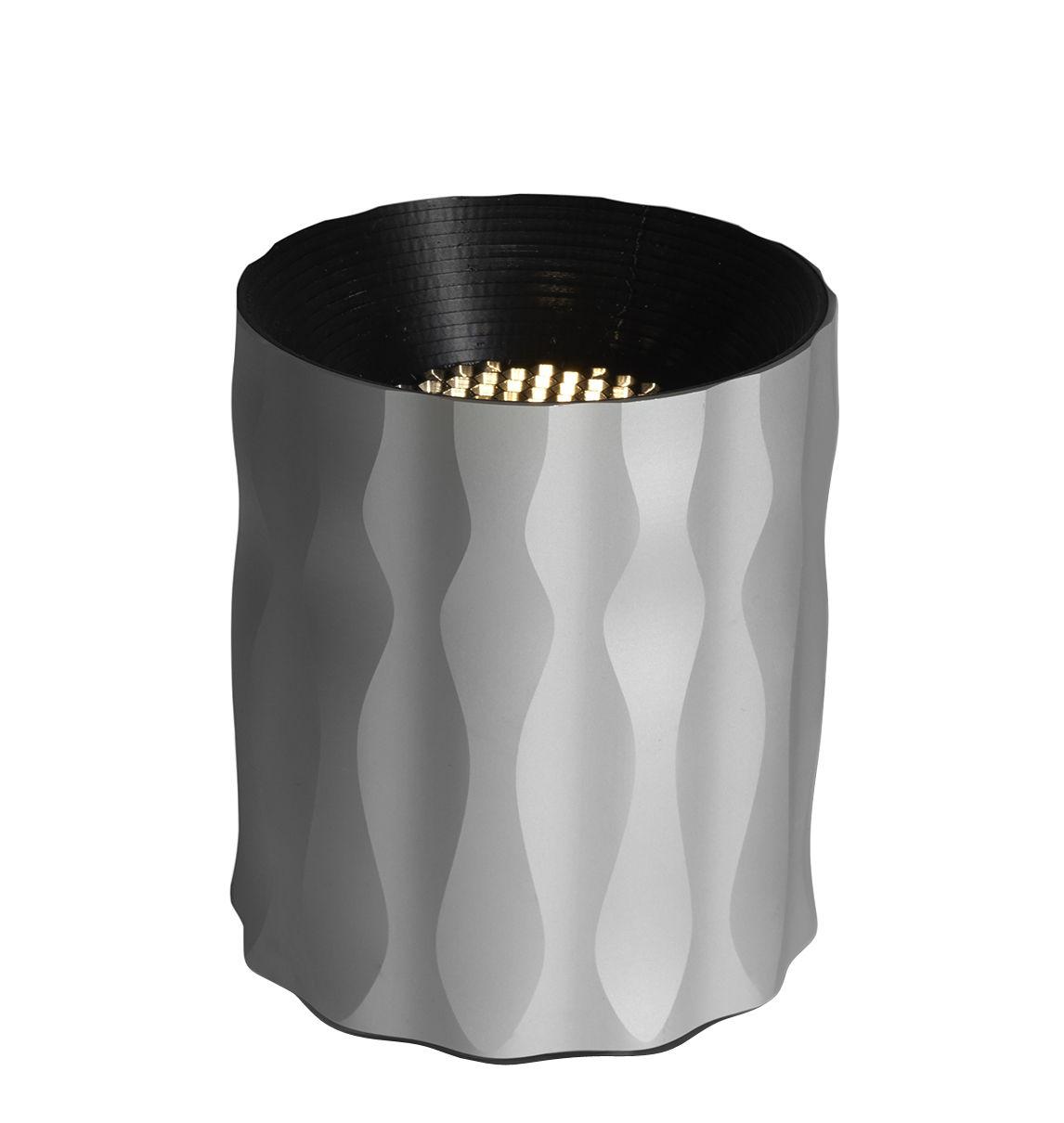 Leuchten - Tischleuchten - Fiamma Tischleuchte / LED - H 16 cm - Artemide - Grau - Metall