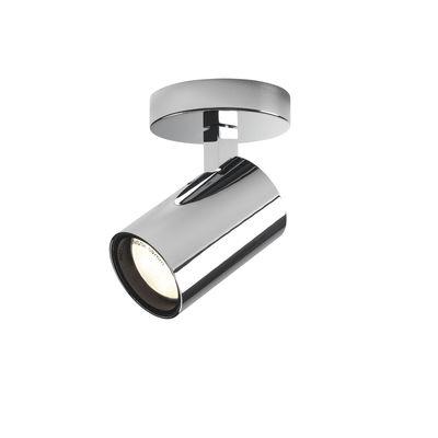 Lighting - Wall Lights - Aqua Single Wall light - / Ceiling light - Adjustable spotlight by Astro Lighting - Chromed - Aluminium
