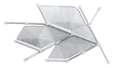 Möbel - Paravents, Raumteiler und Trennwände - Maria Zwischenwand Set mit 42 Blättern - Casamania - Weiß - Polypropylen
