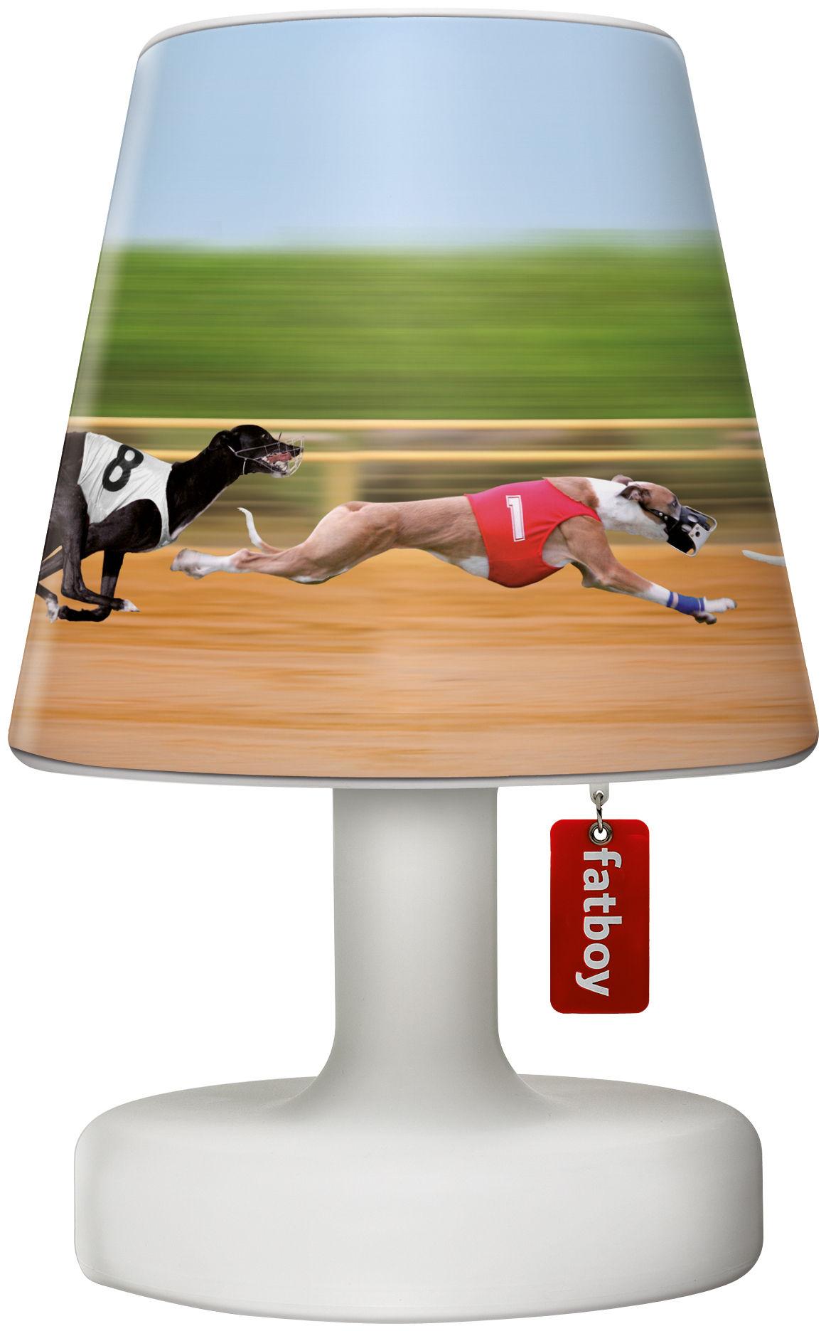 Luminaire - Lampes de table - Abat-jour Cooper Cappie / Pour lampe Edison the Petit - Fatboy - Doggie race / Chiens multicolores - Polypropylène
