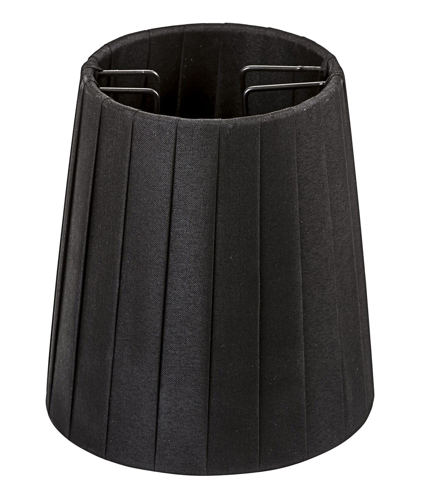 Luminaire - Ampoules et accessoires - Abat-jour tissu / Pour lampes Monkey - Seletti - Noir - Métal, Tissu polyester