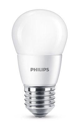 Ampoule LED E27 Sphérique dépolie / 7W (60W) - 806 lumen - Philips blanc dépoli en verre