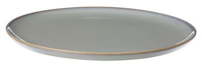 Assiette Neu / Ø 28 cm - Ferm Living gris en céramique
