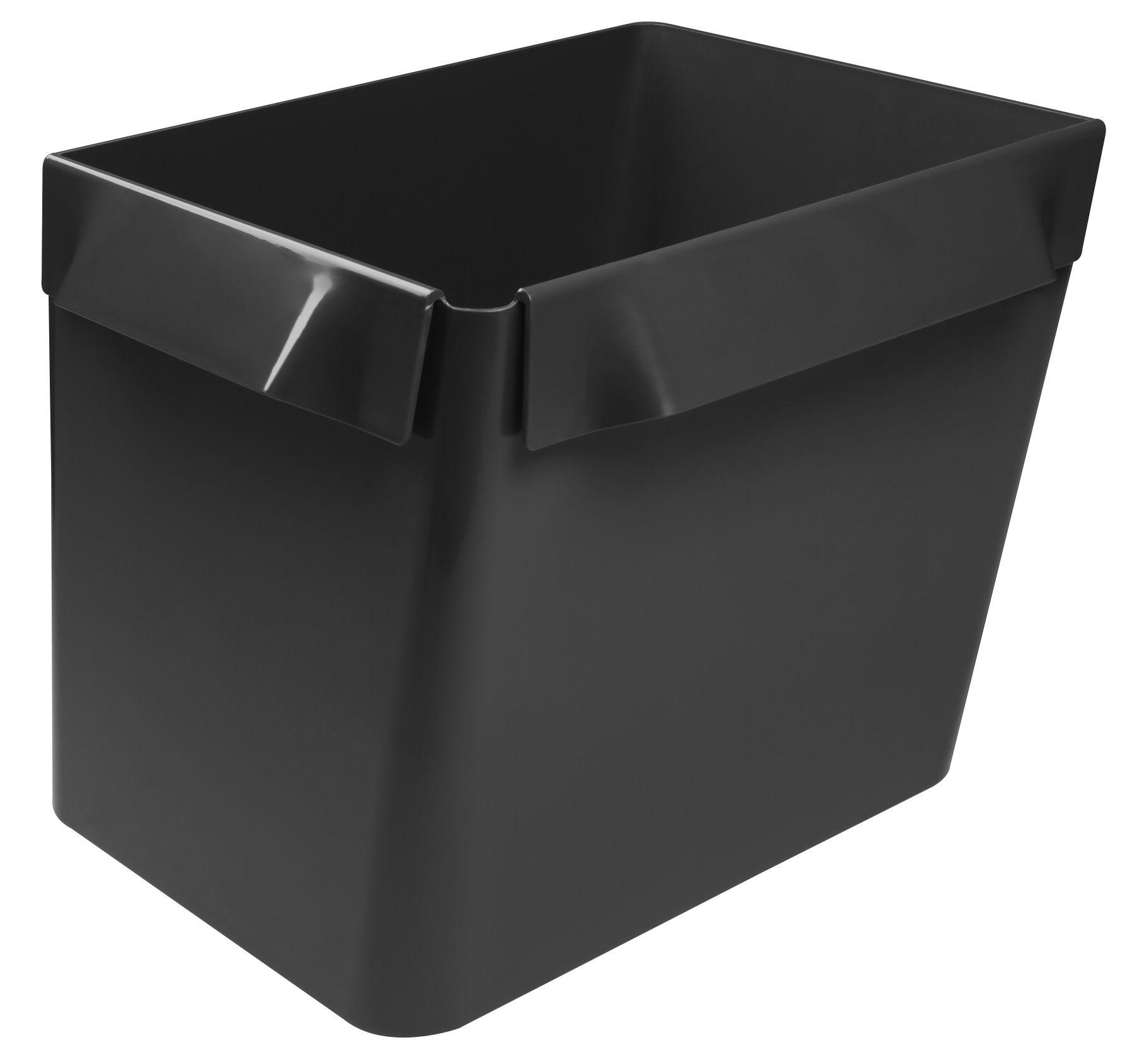Cucina - Cesti - Cestino Big Bin - Ripiano modulabile di Authentics - Grigio scuro - ABS