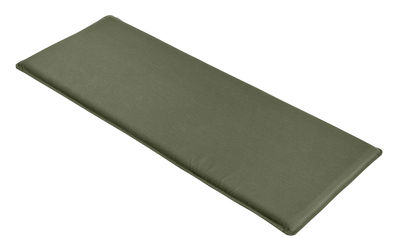 Galette d'assise / Pour banc avec dossier Palissade - Hay vert olive en tissu