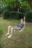 Balance Hanging armchair - / Wood & fabric by Cacoon