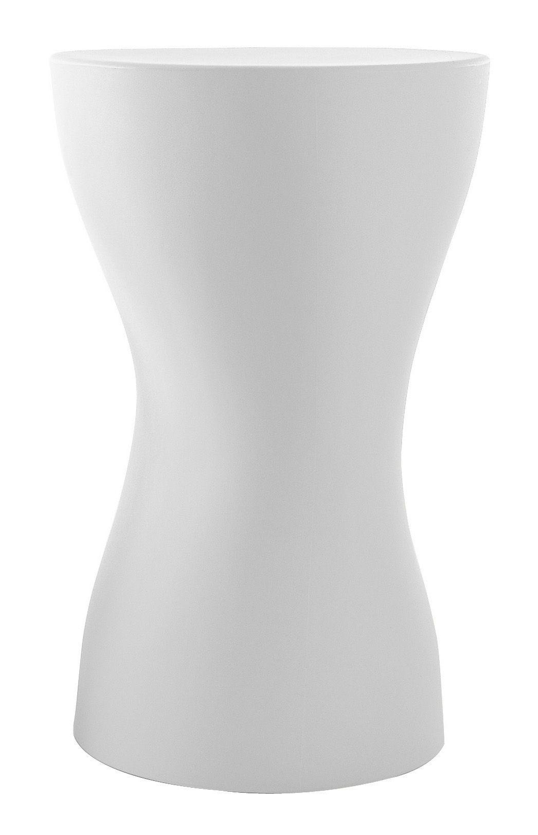 Mobilier - Mange-debout et bars - Mange-debout Tokyo Pop H 90 cm - Driade - Blanc - Polyéthylène