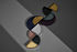 Piano/vassoio Unity - / Quarto di cerchio - L 16,5 cm di AYTM