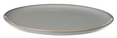 Tavola - Piatti  - Piatto Neu - / Ø 28 cm di Ferm Living - Grigio - Ceramica smaltata