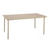 Patio Rectangular table - / Stainless steel - 140 x 80 cm by Tolix