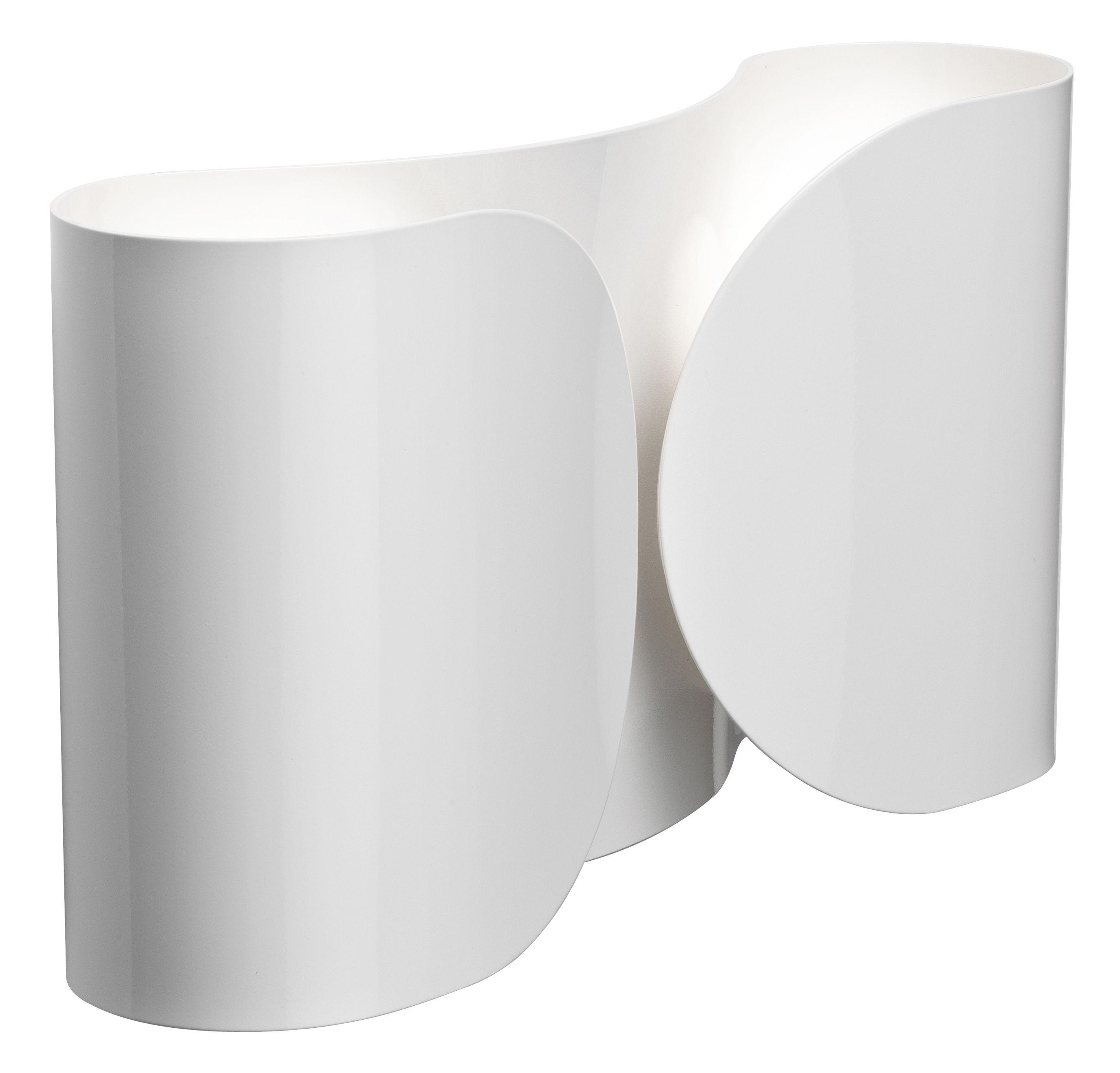 Luminaire - Appliques - Applique Foglio - Flos - Blanc - Acier