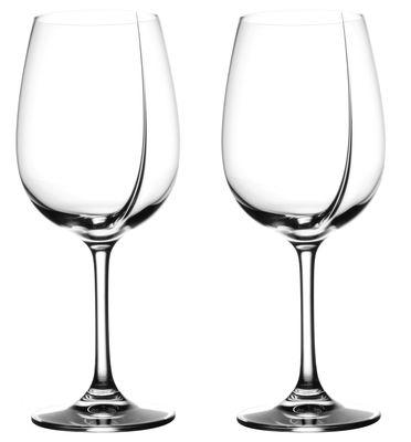 Tavola - Bicchieri  - Bicchiere da vino L'Exploreur Classic - confezione da 2 bicchieri da degustazione di L'Atelier du Vin - Trasparente - vetro soffiato