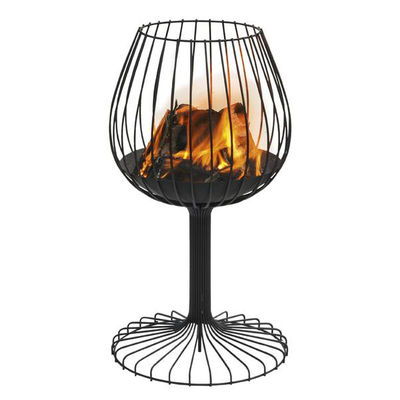 Outdoor - Barbecues & Charcoal Grills - Brandy Brazier by Symo - Black - Steel