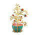 L'Albero del Bene Decoration - / Hand-painted porcelain by Alessi