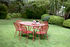Lorette Table ovale - / 160 x 90 cm - Perforated metal by Fermob