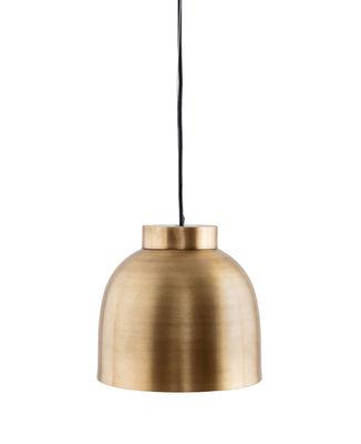 Leuchten - Pendelleuchten - Bowl Small Pendelleuchte / Messing - Ø 22 cm - House Doctor - Klein / Messing - Messing