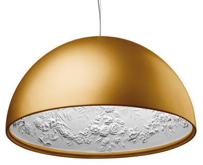 Skygarden 2 Pendelleuchte Ø 90 cm - Flos - Gold mattiert